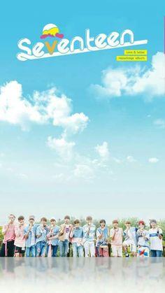 Seventeen Wallpaper [LOVE&LETTER Repackage Album] #seventeen #svt #carat…