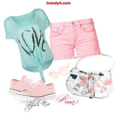 Outfit #8  Want to bring that summer look back? Well then wear this outfit and you will pop out!