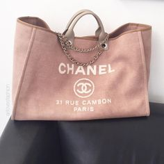 6cd83a73991 I m so loving this CHANEL Deauville Tote by  arilovesfashion Guys all make  sure