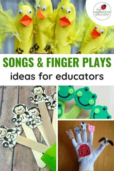 songs & finger plays for educators