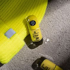 Be brave, wear yellow on your nails! Check out our color: brightside Yellow Nail Polish, Glitter Nail Polish, Yellow Nails, Nail Polishes, Essence Nail Polish, Essence Cosmetics, Beauty Care, Nail Care, You Nailed It