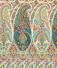 Penelope Cotton in Lemongrass | Nesfield Collection by Liberty Art Fabrics – Interiors | Liberty.co.uk