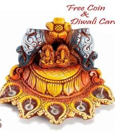Buy Temple design Diwali Diya Tray diwali-decoration online