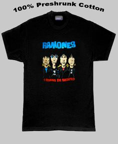 The Ramones I Wanna Be Sedated T Shirt! Been looking for this for years