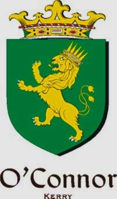 Connor O Kerry family Crest Connor O Kerry