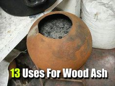 13 Uses For Wood Ash, prepping, homesteading, wood ash, frugal, reuse, upcycle, shtf, campfire ash, preparedness, how to, diy,