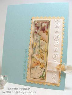 CAS162 Crafty Secret Baby Card