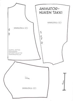 Ninnuska: Animator-doll clothes patterns and more ...