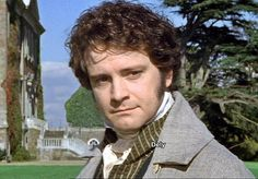 Mr. Darcy, Colin Firth I fell in love with him when he played in this role back in 1997. My husband understands because he is my one and only Mr. Darcy.