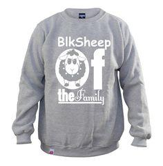 Bluza.BLK SHEEP - LOGIKA