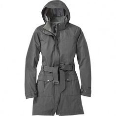 The Outdoor Research Envy rain jacket blends graceful, sophisticated style and waterproof rain protection in a design that works equally well over a skirt as it does over technical trail pants. Best Rain Jacket, Black Rain Jacket, North Face Rain Jacket, Rain Jacket Women, Baby Raincoat, Green Raincoat, Hooded Raincoat, Raincoats For Women