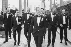 Wedding Photography Poses Brides: Must-Have Wedding Photos of the Groom and Groomsmen - Six must-have shots of your groom and his groomsmen to include to your shot list. Groomsmen Wedding Photos, Groomsmen Poses, Bridesmaids And Groomsmen, Groom And Groomsmen Pictures, Wedding Groom, The Groom, Bride Groom, Wedding Ceremony, Wedding Venues