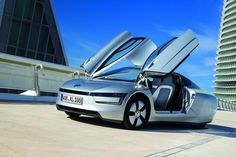 for 100 miles CAR Designed by Volkswagen. The world's most fuel-efficient car, the Volkswagen which was first unveiled at the Qatar Motor Show in has now been confirmed or an initial production run of 250 examples. Bugatti, Bmw, Most Fuel Efficient Cars, Jaguar, Diesel Hybrid, Mustang, Nissan, Used Car Prices, Automobile