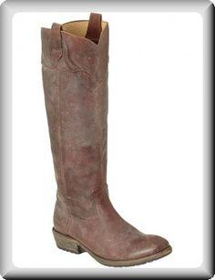 frye boots for women | Frye Women's Brown Flat Heel High Riding Boots