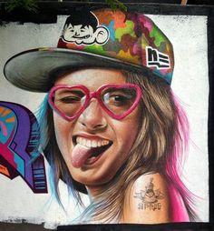 Street-wall graphic art - L'arte grafica sui muri. Street art come forma d'arte…