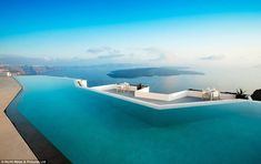 INFINITY POOL  Grace Santorini Hotel  Santorini, Greece | Copyright North News & Pictures Ltd