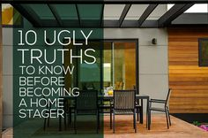 So You Want to Be A Home Stager... // 10 Ugly Truths to Know Before Becoming a Home Stager // Staged4more Home Staging & Design Blog