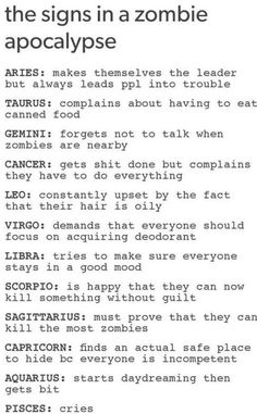I'm a Scorpio and I totally agree with mine even if my horoscope is often wrong.