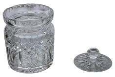 Cut Crystal Waterford Biscuit Jar