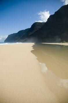 Polihale beach ~ Na Pali Coast, Kauai, Hawaii