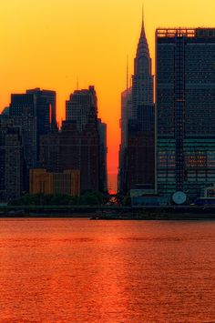 NYC. Special sunset moment // by mudpig
