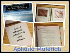 Affordable Aphasia Workbooks