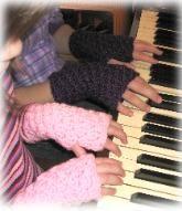 Mrs D Crochets Basic Fingerless Gloves
