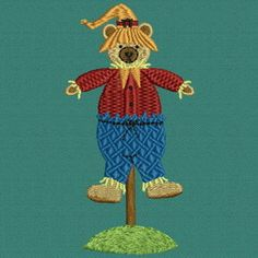 Beary Scarecrows 03