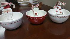 Christmas Dip Bowls Mudpie Christmas, Dip Bowls, Mud Pie, Four Square, Christmas Ornaments, Holiday Decor, Home Decor, Xmas Ornaments, Homemade Home Decor