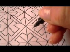 How to draw tanglepattern Crusade