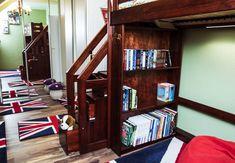 Bunk Beds, Bookcase, Loft, Shelves, Furniture, Home Decor, Shelving, Decoration Home, Double Bunk Beds