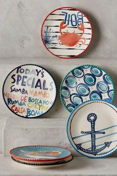 Clambake Canape Plate - anthropologie.com