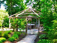 Outdoor Rustic Garden Gazebo