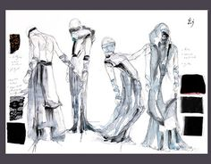 """Check out new work on my @Behance portfolio: """"Costumes and sketch for Csongor and Tünde."""" http://be.net/gallery/47780929/Costumes-and-sketch-for-Csongor-and-Tuende"""