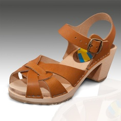 View photo - Queen 3009 Pampas Clogs Sandals (70's style)