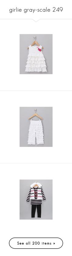 """""""girlie gray-scale 249"""" by sterlingkitten ❤ liked on Polyvore featuring baby stuff, baby clothes, baby girl clothes, dresses, blossom dress, flower cocktail dress, beaded cocktail dress, beaded dresses, beading dress and polka dot dress"""
