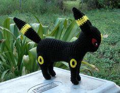 Crochet!   Pokemon Umbreon Plushie pattern DIY MUST HAVE