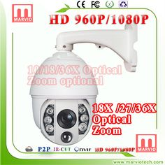 1080P 7'' security cctv IP PTZ any onvif protocol camera with excellent surveillance 150M night vision