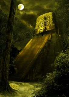 Mayan Temple by moonlight Deep Autumn, Deep Winter, Beautiful Scenery, Beautiful Images, World Images, Ancient Civilizations, Main Colors, Social Studies, Moonlight