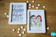 Blog Tintenelfe De Geschenkidee Für Beste Freundin Bff Friendsforlife Quotes