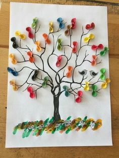 Related Posts:Tree art and craft activitiesChristmas decoration ideasProtect the ForestsSpring tree craft for preschoolers us wp-content uploads 2017 01 macaroni-tree-craft. 50 awesome spring crafts for kids ideas 2 Four season tree craft ideas for presch Kids Crafts, Spring Crafts For Kids, Tree Crafts, Summer Crafts, Fall Crafts, Projects For Kids, Diy For Kids, Diy And Crafts, Craft Projects