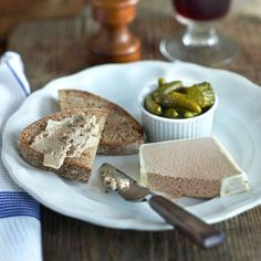 Raymond Blanc Chicken Liver Parfait | French Recipes | Red Online
