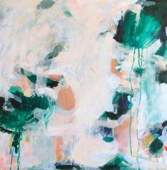 Palma by Parima Studio // abstract acrylic painting on wood