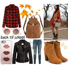 back to school by rencsiasd on Polyvore featuring Anine Bing, Laurence Dacade…