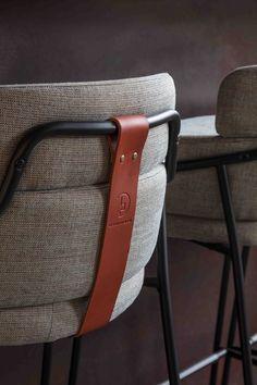 Sella Concept - Workspace Cafe Design, bespoke stool detail