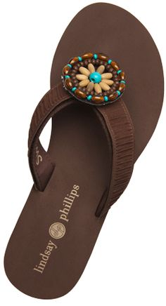 d88b83f40 How cute is the Nikita strap on my Brown Lulu flip-flop!take one pair of  shoes one holiday and a handful of straps.