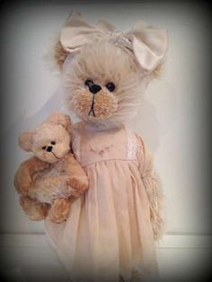 Christabel and Binky by By Shaz Bears | Bear Pile
