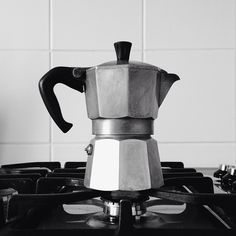 Moka pot / photo by communiqué  Used one of these in Spain. Loved it!