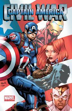 Marvel Universe Captain America: Civil War #TPB #Marvel #CaptainAmerica (Cover Artist: Todd Nauck) Release Date: 2/10/2016