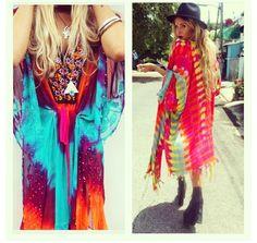 Rat and Boa Kaftans Rat And Boa, Hippie Style Clothing, Kaftans, Boho Gypsy, Festivals, Graphic Tees, Kimono Top, Style Inspiration, Fashion Outfits